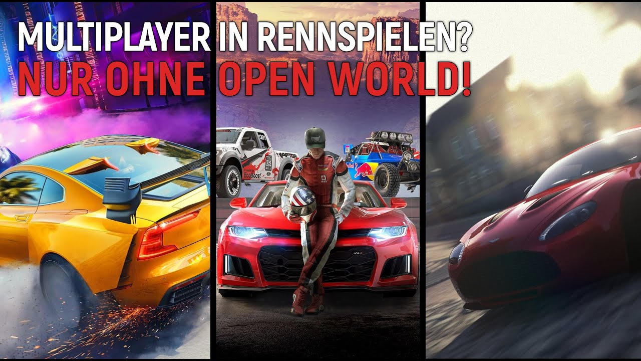 Multiplayer Rennspiel