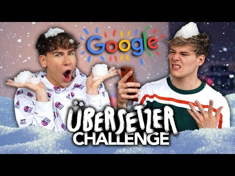 GOOGLE ÜBERSETZER CHALLENGE mit Marvyn Macnificent | Joeys Jungle