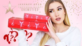 Unboxing Jeffree Star Mystery Boxes .. I'm late to the party but still ready to party : )