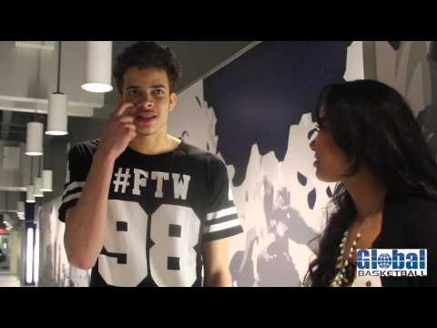 Kayla Williams of Global basketball Interview with R.J. Hunter