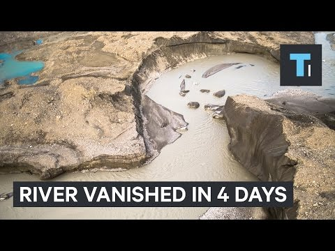 300-year-old Silms river in Canada vanished in 4 days