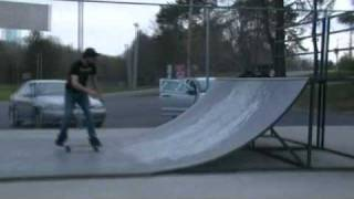 Tim Cook Skating Carthage Skate Park 2010