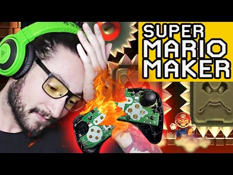 0.00 % CONTROLLER DESTRUCTION RAGE # 3 - SUPER MARIO MAKER