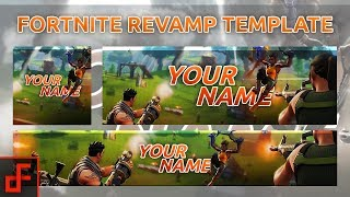 Free GFX | Fortnite Revamp Template 2018
