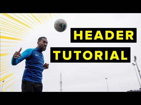 HOW TO HEAD LIKE CR7   Header tutorial thumbnail