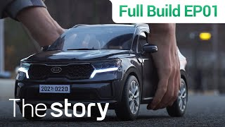 [Full Build EP1 : ENG sub] 1:10 Scale, Sorento MQ4 : Diecast modeler, Lee Sang-won
