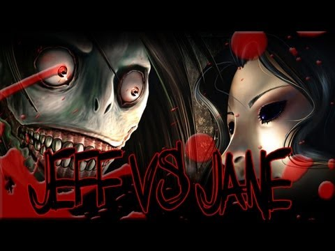 "Go To Sleep - ""Jeff the Killer vs Jane the Killer ...