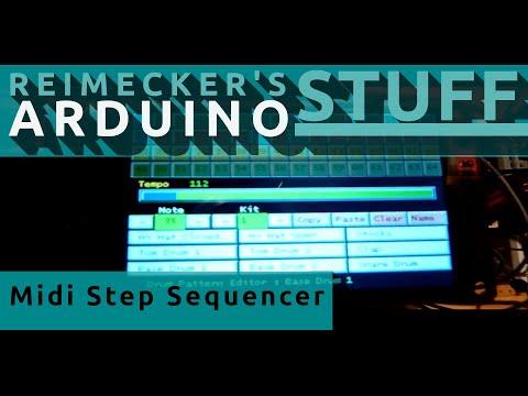 Arduino Midi Sequencer Ver 2.0 Demo (Eminem - The Real Slim Shady)