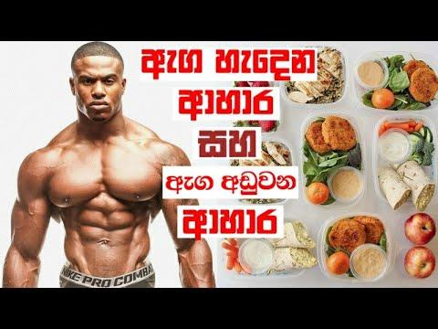 Bodybuilding Foods Meal Diet Plan Sinhala | Fitness Sinhala | Bodybuilding Sinhala Motivation Tips