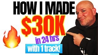 How I Made $30k In 24 Hours With 1 Track! How To Get Into Music Licensing For Film