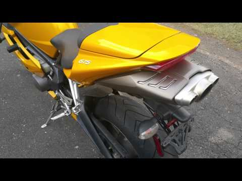 Triumph Daytona  Stock exhaust note