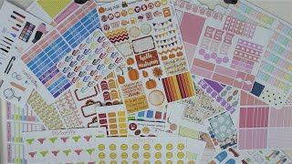 Etsy Sticker Haul! ~One Orange Snowflake, Stickeriffic, Makiton & Co and Rory
