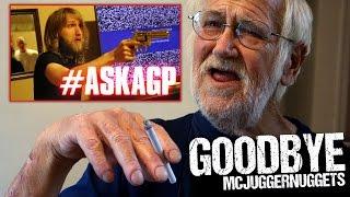 ANGRY GRANDPA SAYS GOODBYE TO MCJUGGERNUGGETS! (TWITTER Q&A)