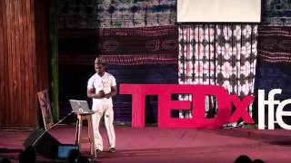 A solo dancer: Qudus Onikeku at TEDxIfe