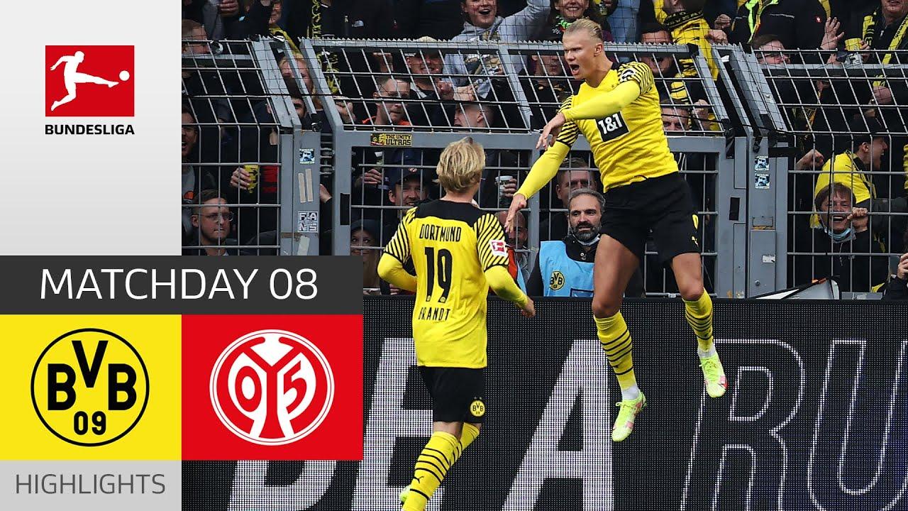 Download Borussia Dortmund - 1. FSV Mainz 05 3-1 | Highlights | Matchday 8 – Bundesliga 2021/22