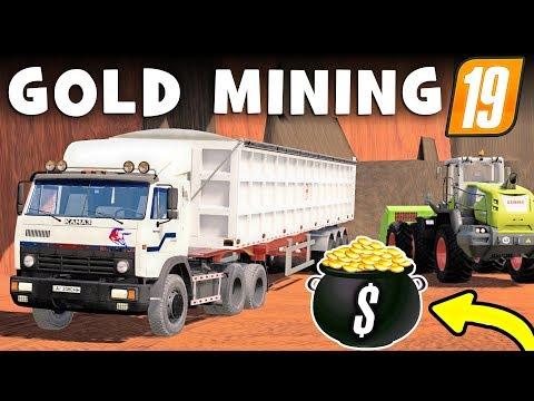 FARMING SIMUALTOR 19 GOLD RUSH - The Lucrative Gold Mine