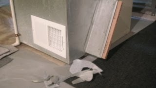 How To Cool Home With Installed Furnace Fan Basement Air Vent