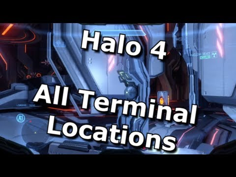 Halo 4 - All Terminal Locations - Terminus Achievement Guide