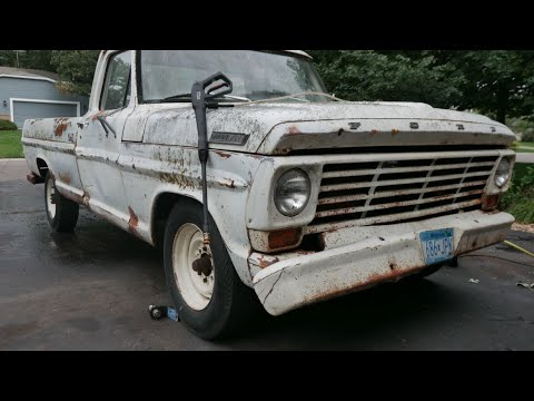 ABANDONED Ford F250 First Start in 24 years | Part 2 - Vice Grip Garage EP40