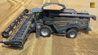 Mähdrescher Fendt IDEAL 8 - 10,7 m on Tour in Germany - new big combine harvester wheat harvest 2019