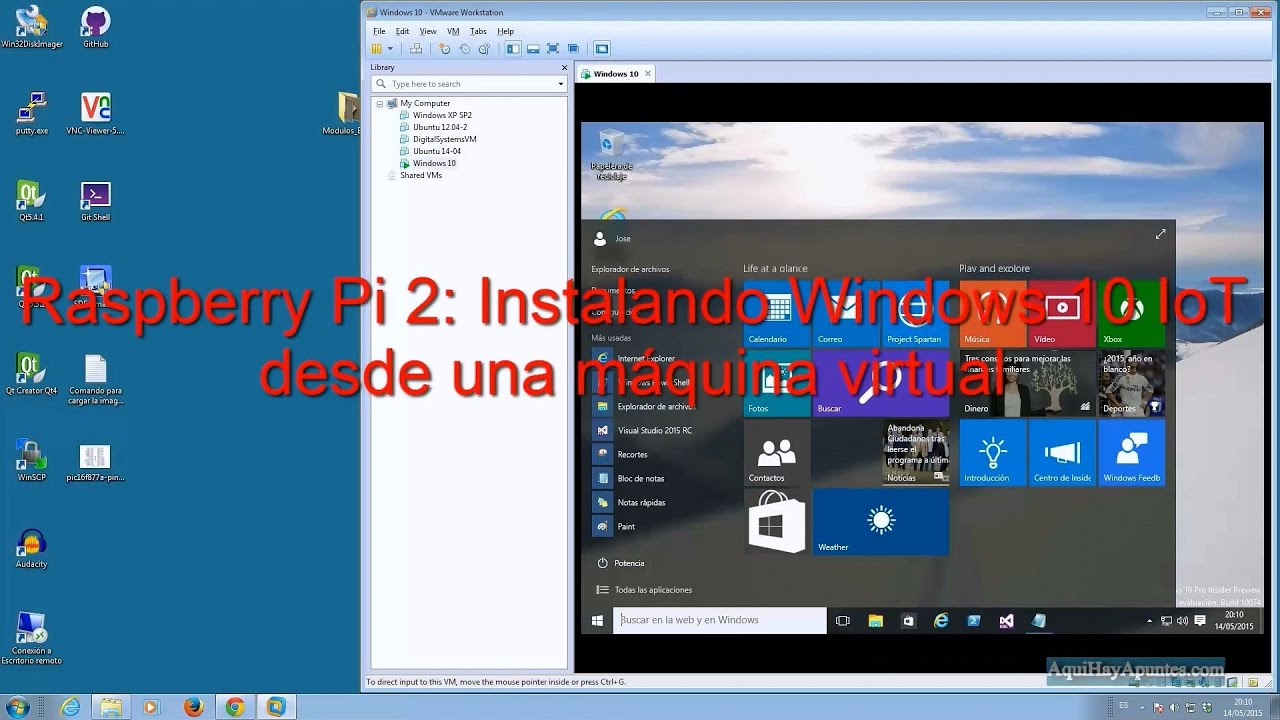 Raspberry Pi 2 Instalando Windows 10 Iot Desde Una