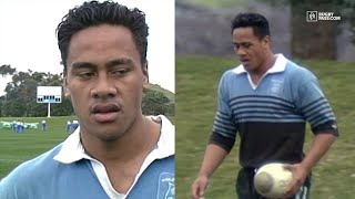 All Black Legend Jonah Lomu As An AMAZING Schoolboy | Rugby Highlights | RugbyPass
