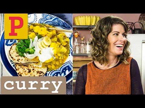 Em uma panela só: ensopado vegetariano (curry) da Rita Lobo