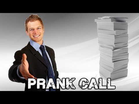Job Reference   Prank Call