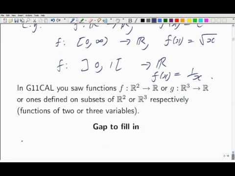 Lecture 12b: Math. Analysis - Functions, Limits and Continuity