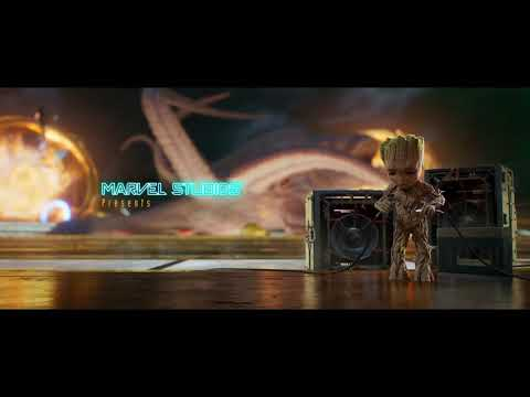 Guardians of the Galaxy Vol. 2 Opening Credits Scene HD