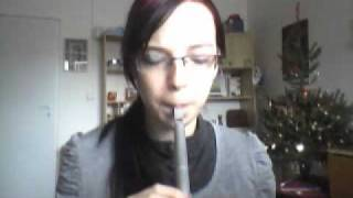 Nightwish - I Want My Tears Back 2 COVER on Penny Whistle D