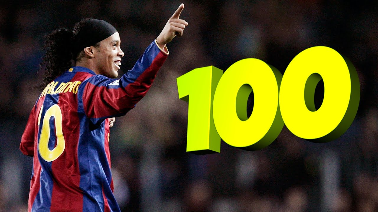 Best 100 Legendary & Famous Goals in Football | Part 1