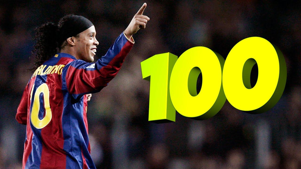 اجمل 100 هدف في العالم على مر التاريخ