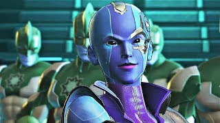 Marvel Ultimate Alliance 3 - Nebula Boss Fight (1080p 60fps)