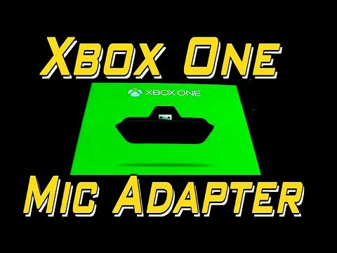Official Xbox One Mic Adapter | Microsoft Xbox One Headset Adapater (Mic Adapter For Xbox One)