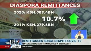 Remittances from the diaspora surge despite Covid-19