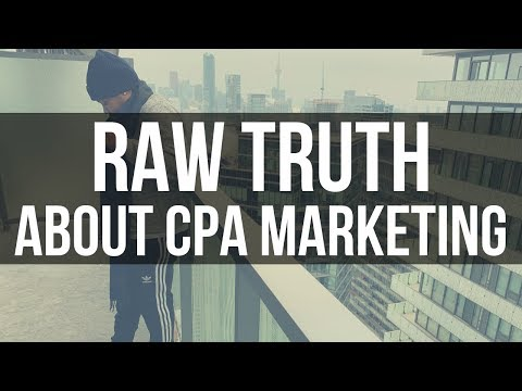 TRUTH ABOUT SUCCESS W/ CPA MARKETING 💯
