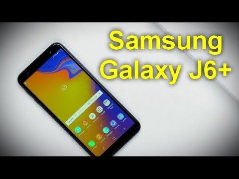 Характеристики Samsung Galaxy J6+  Infinity Display и двойная камера