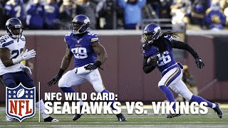 Tip Drill: Trae Waynes Picks Off Russell Wilson | Seahawks vs. Vikings | NFL