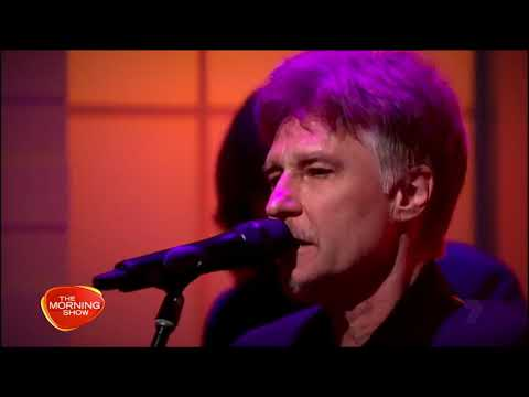 John Waite 'When I See You Smile' Acoustic LIVE - The Morning Show Australia - HD STEREO - March2018