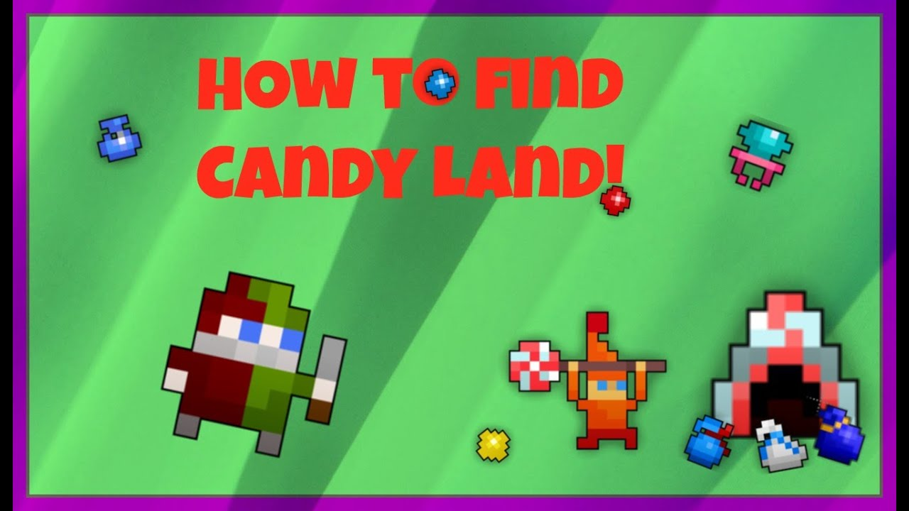 How to find Candy Land in ROTMG!