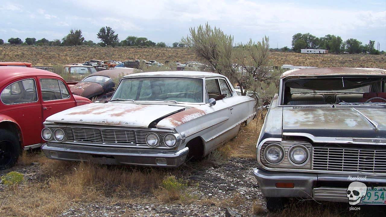 Old abandoned cars. Collection of abandoned classic cars - YouTube