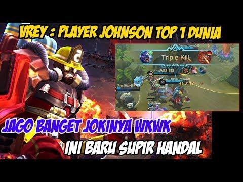 Pemain Terbaik Johnson Nomor 1 Di Dunia (Vrey: Top 1 Johnson) Lihai Banget Beloknya