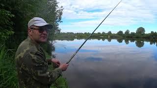 Первая рыбалка лета с ночёвкой на реке