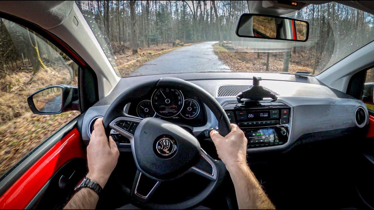 Skoda Citigo E Iv 2020 Pov Test Drive 437 Joe Black Youtube