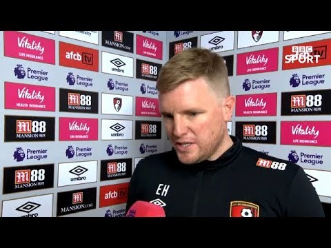 Eddie Howe Post Match Reaction Interview | Bournemouth 2-2 Crystal Palace | Premier League Review