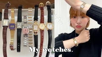 소장하고 있는 손목시계 리뷰 & 추천 / 명품 빈티지 시계부터 가성비 시계까지 (구찌, 세이코, 입생로랑, 카시오, ck ) | 지혜사랑