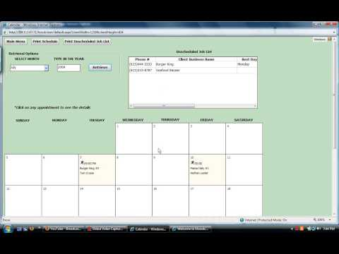 How To Schedule Jobs For A Particular Month Tutorial - YT