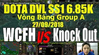 Dota DVL SS1 Group A WeCanFlyHigh vs Knock Out
