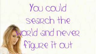What Dreams Are Made Of - Hilary Duff - With Lyrics